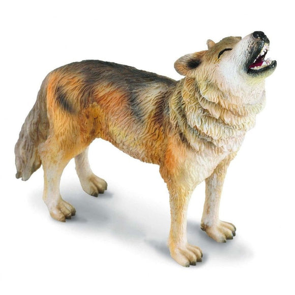 CollectA Timber Wolf Howling - Wild Life - AnimalKingdoms.co.nz