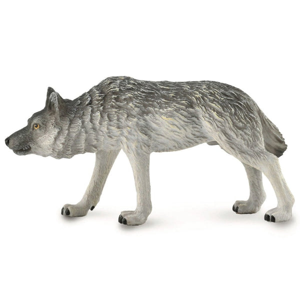 CollectA Timber Wolf Hunting 2019-88845-Animal Kingdoms Toy Store