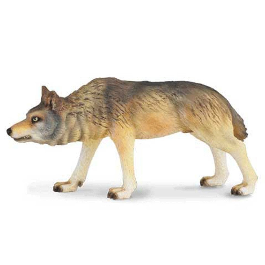 CollectA Timber Wolf Hunting - Wild Life - AnimalKingdoms.co.nz