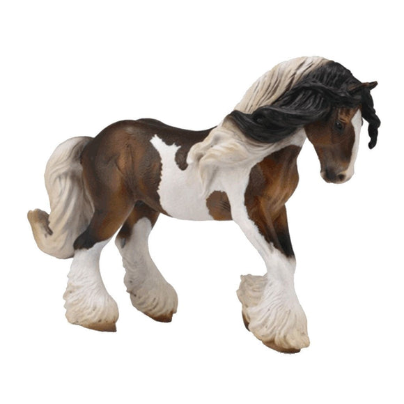 CollectA Tinker Stallion Piebald - AnimalKingdoms.co.nz