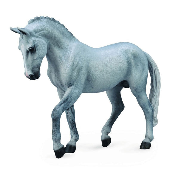 CollectA Trakehner Stallion Grey-88733-Animal Kingdoms Toy Store