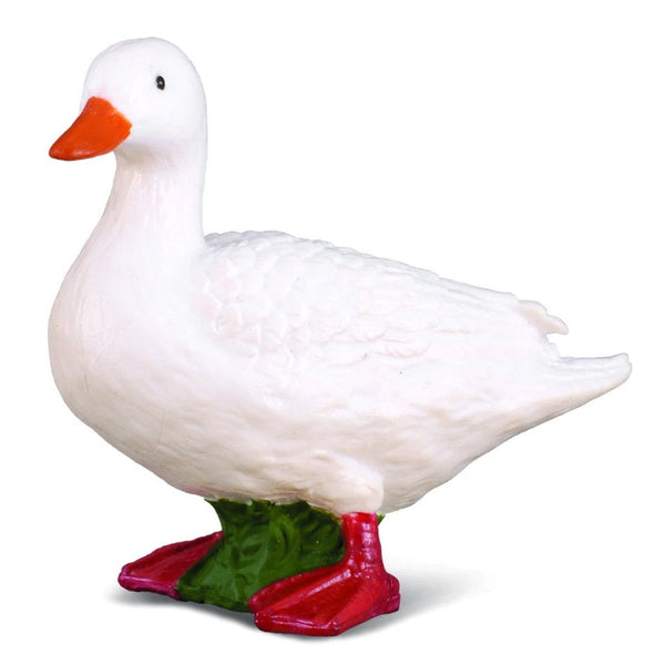 CollectA White Duck - AnimalKingdoms.co.nz