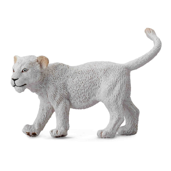 CollectA White Lion Cub Walking-88551-Animal Kingdoms Toy Store