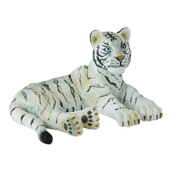 CollectA White Tiger Cub Lying - AnimalKingdoms.co.nz