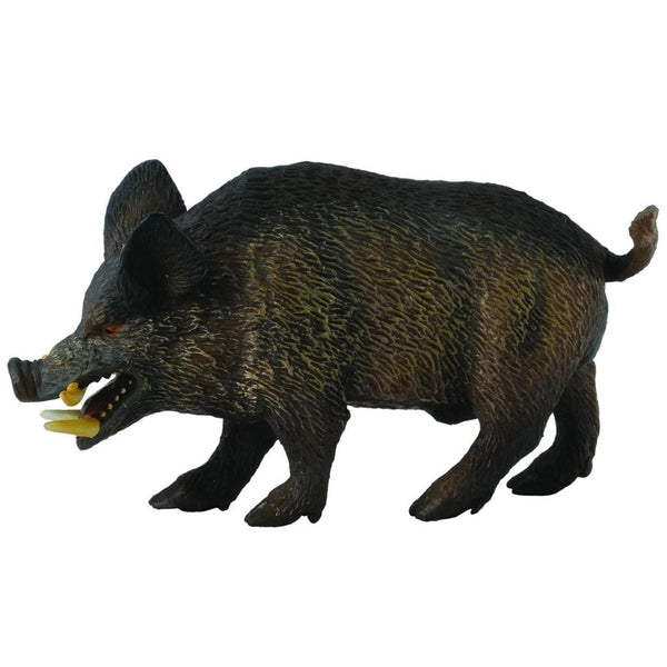 CollectA Wild Boar-88363-Animal Kingdoms Toy Store