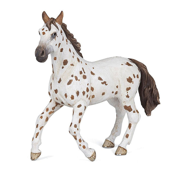 Papo Appaloosa Mare Brown-51509-Animal Kingdoms Toy Store