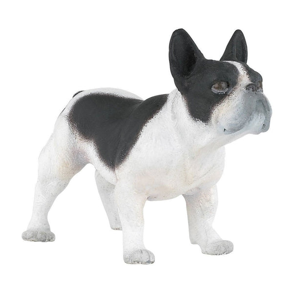 Papo Black and White French Bulldog - Cats and Dogs - AnimalKingdoms.co.nz