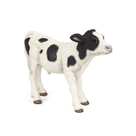 Papo Black and White Piebald calf - AnimalKingdoms.co.nz
