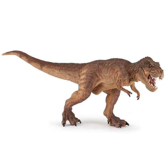 Papo Brown running Tyrannosaurus Rex - Prehistoric - AnimalKingdoms.co.nz