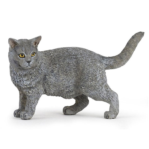 Papo Cat Chartreux - Cats and Dogs - AnimalKingdoms.co.nz