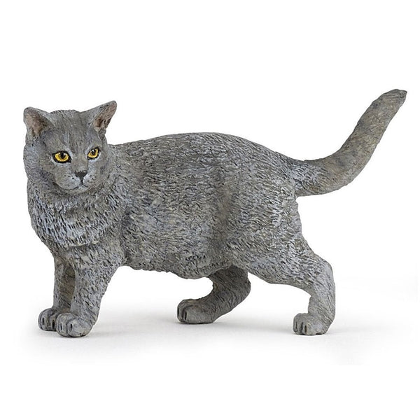 Papo Cat Chartreux-54040-Animal Kingdoms Toy Store