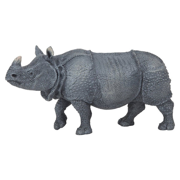 Papo Indian Rhino-50147-Animal Kingdoms Toy Store