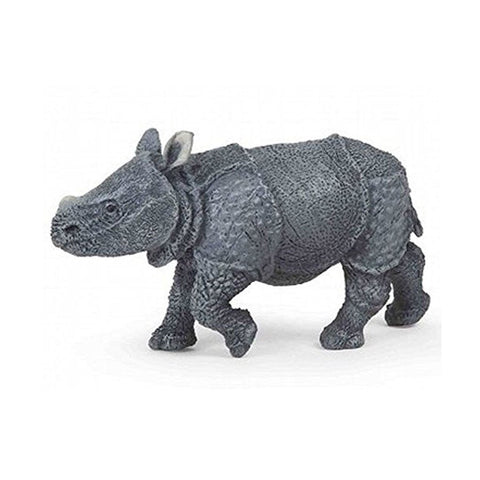 Papo Indian Rhinoceros Calf - Wild Life - AnimalKingdoms.co.nz