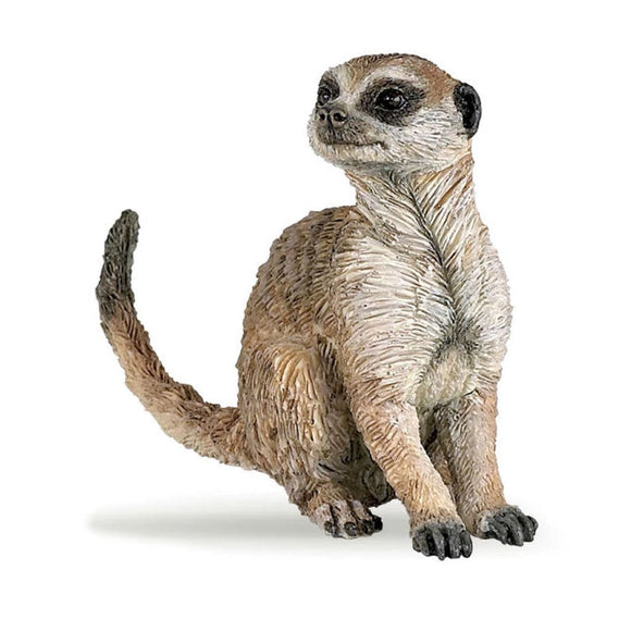 Papo Meerkat Sitting - Wild Life - AnimalKingdoms.co.nz