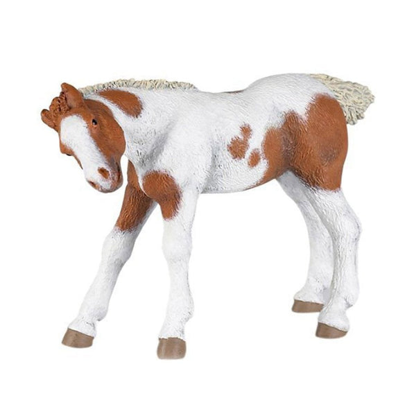 Papo Pinto Foal Suckling-51095-Animal Kingdoms Toy Store