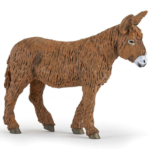 Papo Poitou Donkey-51168-Animal Kingdoms Toy Store