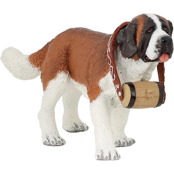 Papo St Bernard Dog - Cats and Dogs - AnimalKingdoms.co.nz