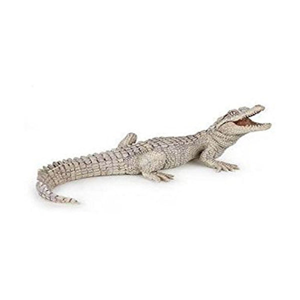 Papo White Baby Crocodile-50141-Animal Kingdoms Toy Store