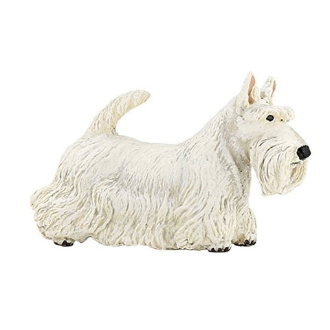 Papo White Scottish Terrier - Cats and Dogs - AnimalKingdoms.co.nz