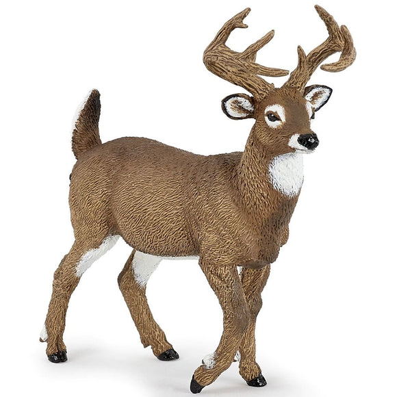 Papo White Tailed Deer-53021-Animal Kingdoms Toy Store