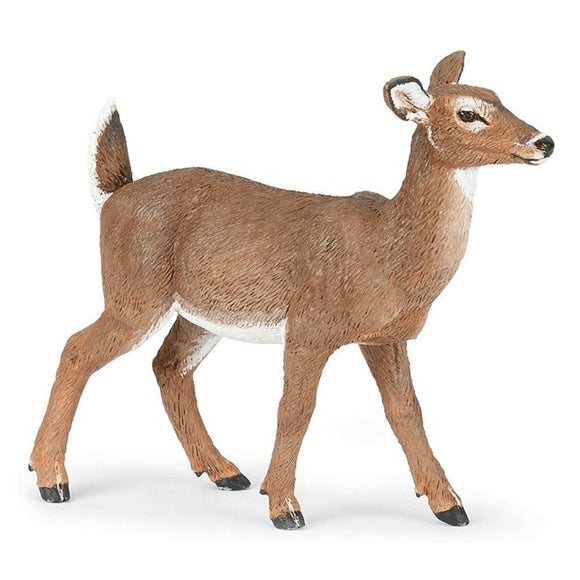 Papo White Tailed Doe-50218-Animal Kingdoms Toy Store