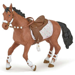 Papo Winter Riding Horse - Horses - AnimalKingdoms.co.nz