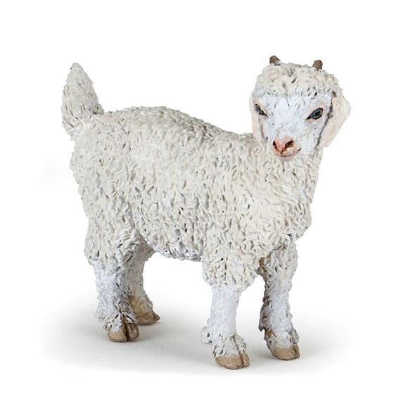 Papo Young Angora Goat - AnimalKingdoms.co.nz