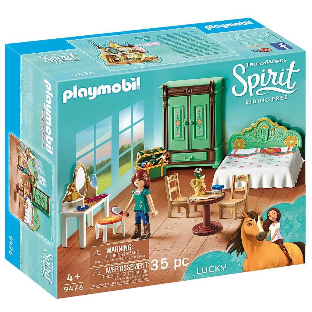 Playmobil DreamWorks Spirit Riding Free Lucky's Bedroom - AnimalKingdoms.co.nz