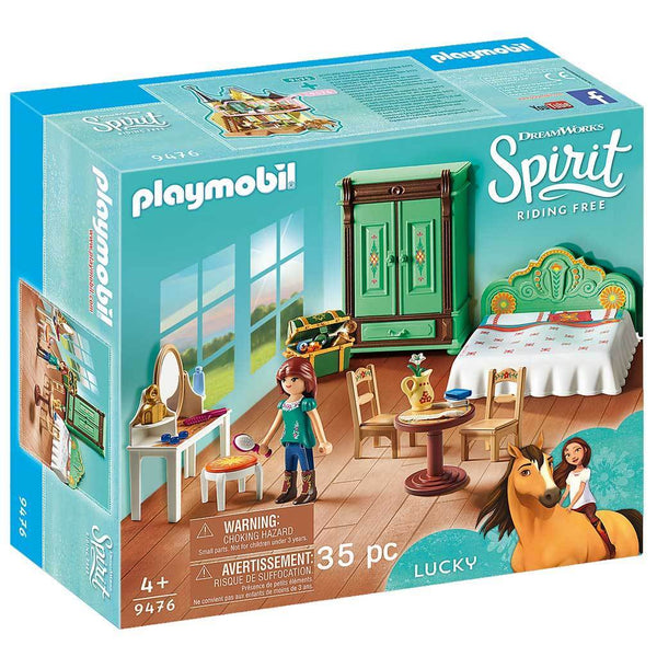 Playmobil DreamWorks Spirit Riding Free Lucky's Bedroom - Spirit - AnimalKingdoms.co.nz
