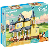 Playmobil DreamWorks Spirit Riding Free Lucky's Happy Home-909475-Animal Kingdoms Toy Store