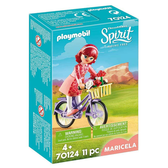 Playmobil DreamWorks Spirit Riding Free Maricela with Bicycle - AnimalKingdoms.co.nz