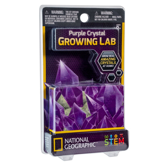 National Geographic - Crystal Growing Powder purple-Animal Kingdoms Toy Store