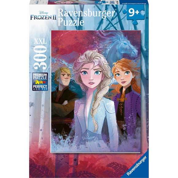 Ravensburger Frozen 2 Elsa, Anna and Kristoff 300pc-RB12866-2-Animal Kingdoms Toy Store