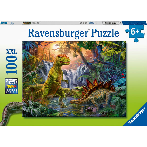 Ravensburger Dinosaur Oasis 100pc-RB12888-4-Animal Kingdoms Toy Store