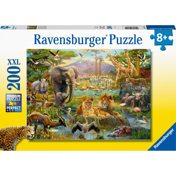 Ravensburger Animals of the Savanna 200pc-RB12891-4-Animal Kingdoms Toy Store