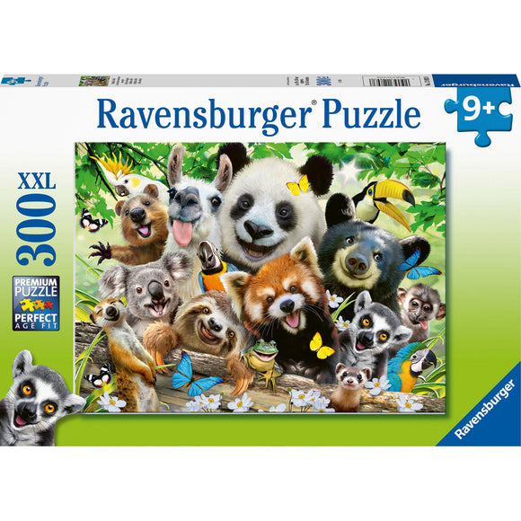 Ravensburger Wildlife Selfie 300pc - AnimalKingdoms.co.nz