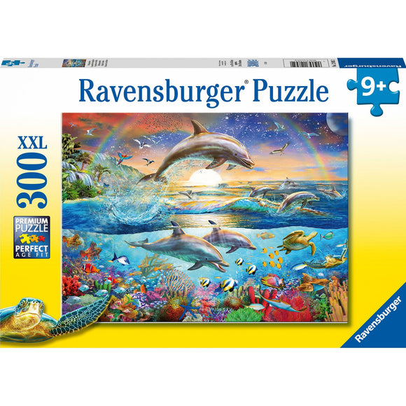 Ravensburger Dolphin Paradise 300pc-RB12895-2-Animal Kingdoms Toy Store