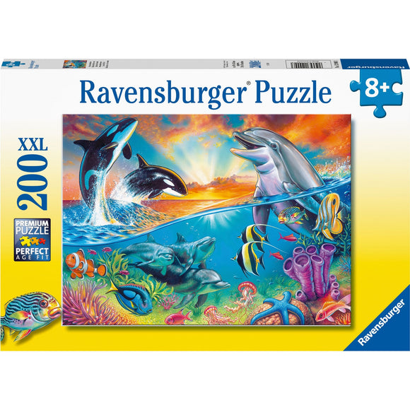 Ravensburger Ocean Wildlife puzzle 200pc - AnimalKingdoms.co.nz