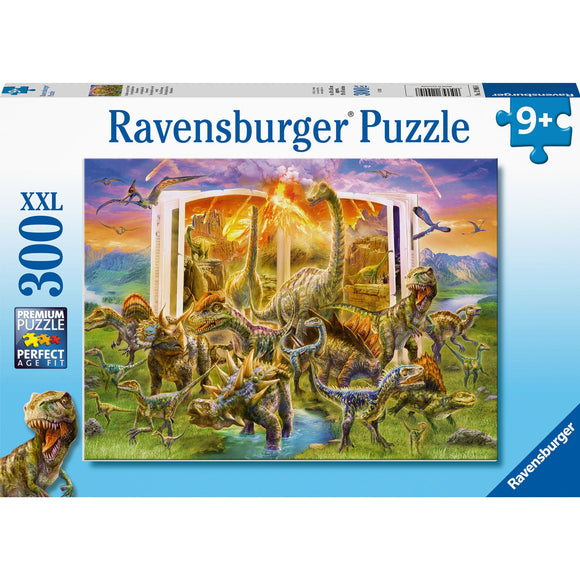 Ravensburger Dino Dictionary 300pc-RB12905-8-Animal Kingdoms Toy Store