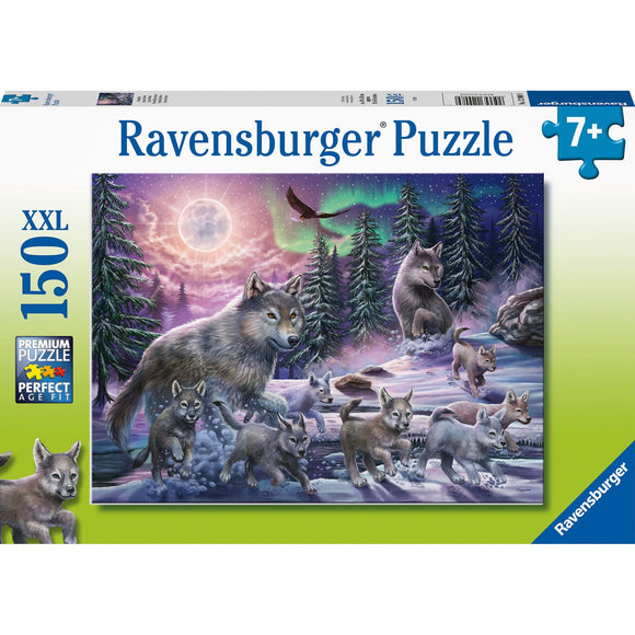 Ravensburger Northern Wolves Puzzles 150pc-RB12908-9-Animal Kingdoms Toy Store