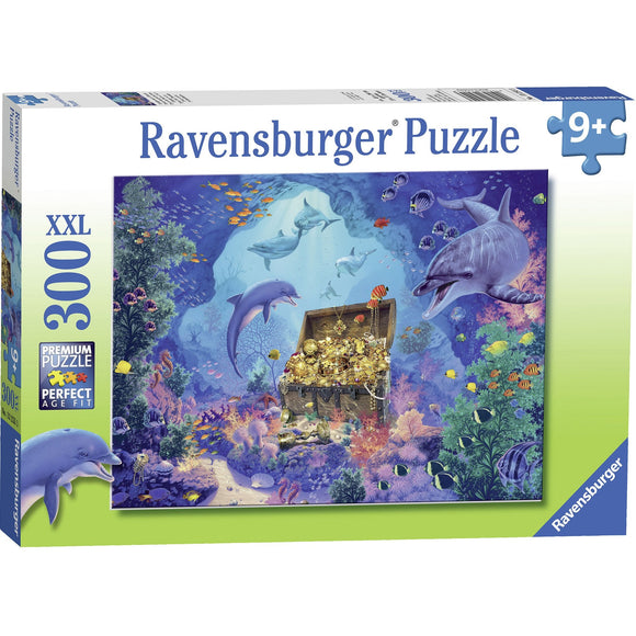 Ravensburger Deep Sea Treasure Puzzle 300pc-RB13255-3-Animal Kingdoms Toy Store