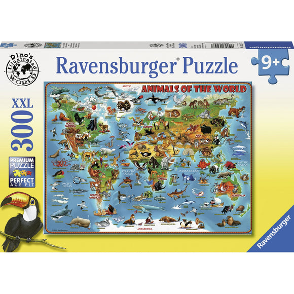 Ravensburger Animals of the World 300pc-RB13257-7-Animal Kingdoms Toy Store