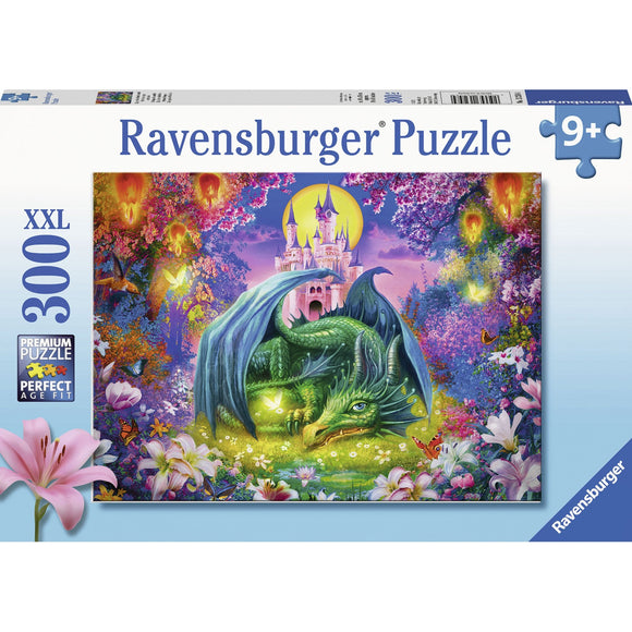 Ravensburger Mystical Dragon Puzzle 300pc-RB13258-4-Animal Kingdoms Toy Store