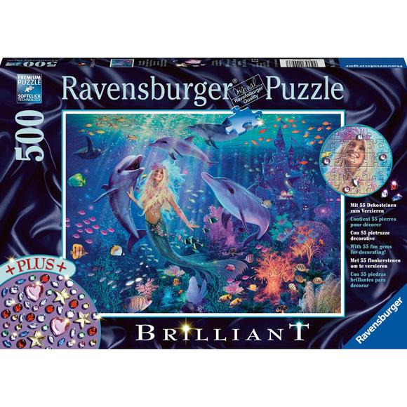 Ravensburger Mermaid 500pc-RB14993-3-Animal Kingdoms Toy Store