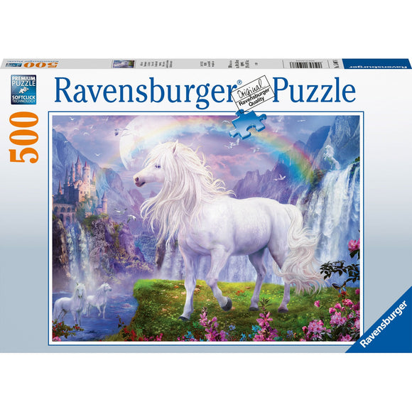 Ravensburger Mystic Steeds 500pc - AnimalKingdoms.co.nz