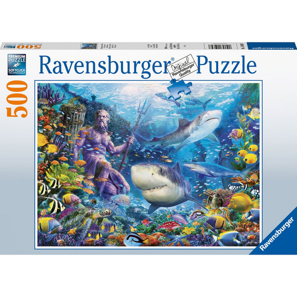Ravensburger King of the Sea 500pc-RB15039-7-Animal Kingdoms Toy Store