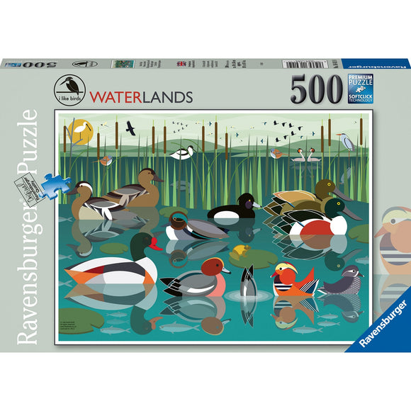 Ravensburger I Like Birds 500pc-RB16411-0-Animal Kingdoms Toy Store
