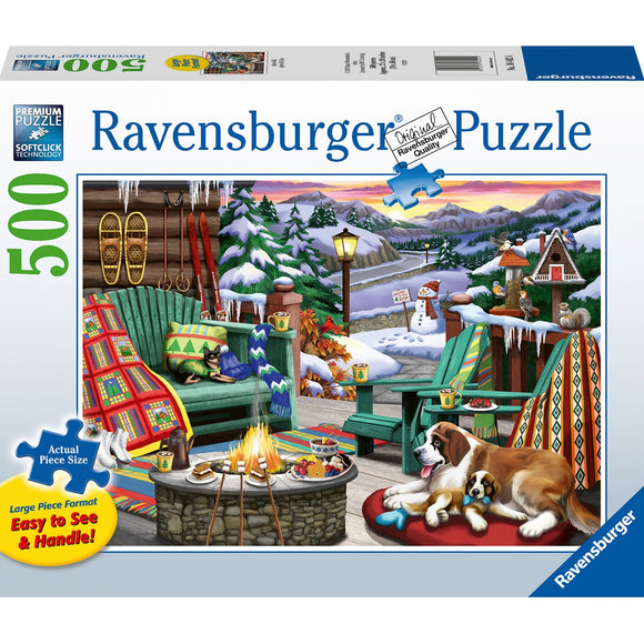 Ravensburger Apres all Day 500pc Large Format - AnimalKingdoms.co.nz