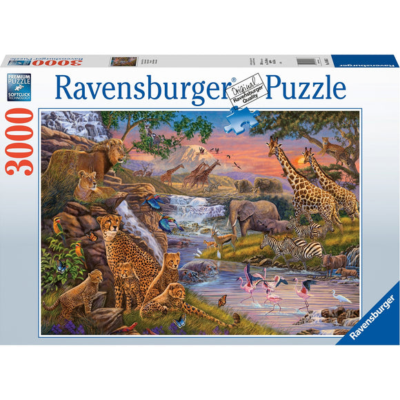 Ravensburger Animal Kingdom 3000pc-RB16465-3-Animal Kingdoms Toy Store