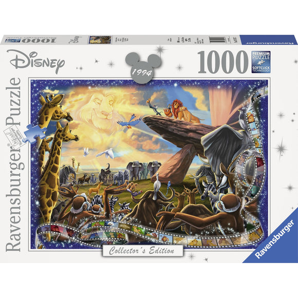 Ravensburger Disney Moments 1994 Lion King Puzzle 1000p-RB19747-7-Animal Kingdoms Toy Store